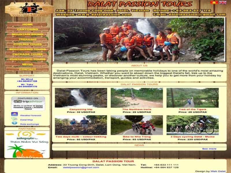 Dalat Passion Tours