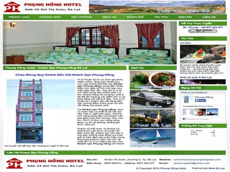 Khách sạn Phụng Hồng Đà Lạt