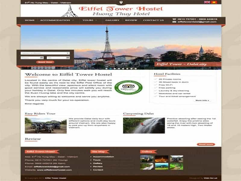 Eiffel Tower Hostel