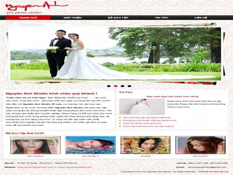 Studio áo cưới Nguyên Anh