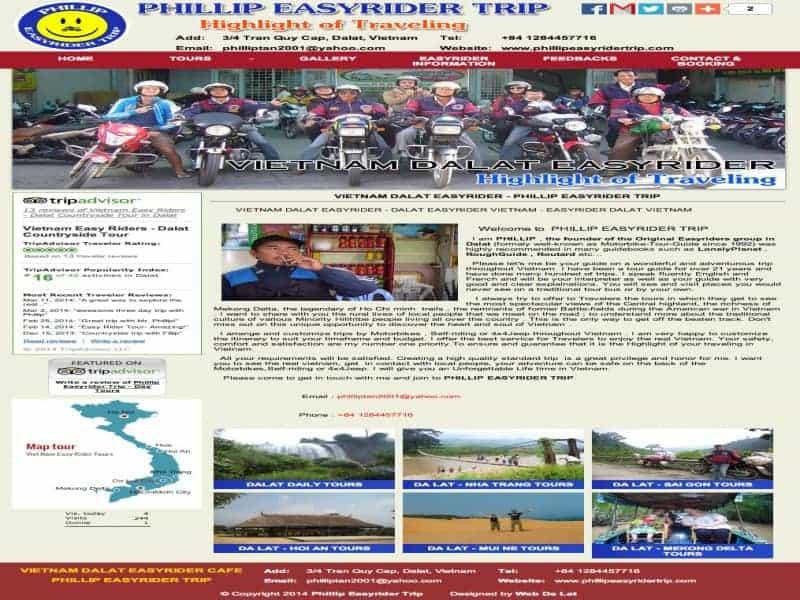Phillip Easy Rider Trip