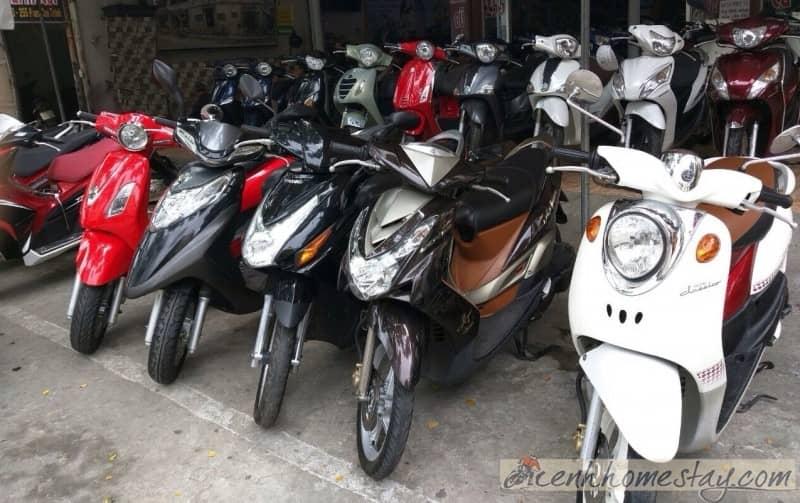 Kinh nghiệm cần bỏ túi khi thuê xe máy ở Phan Thiết