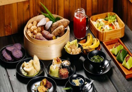 Buffet rau Đà Lạt - nét độc đáo trong ẩm thực Đà Lạt