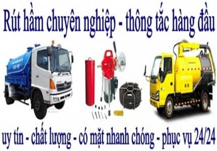Dịch vụ hút hấm cầu Đà Lạt - dịch vụ vệ sinh Đà Lạt