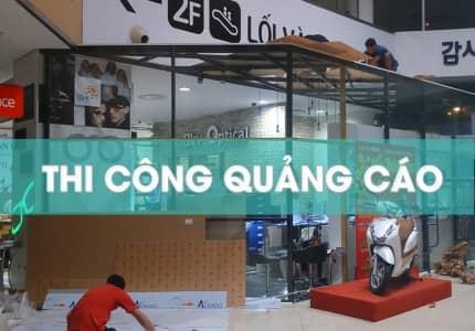 Dịch vụ thi công bảng hiệu - quảng cáo uy tín ở Đà Lạt