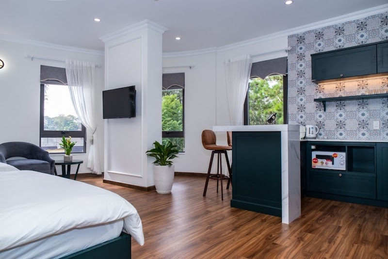 Studio Twin Suite căn hộ có view toàn thành phố