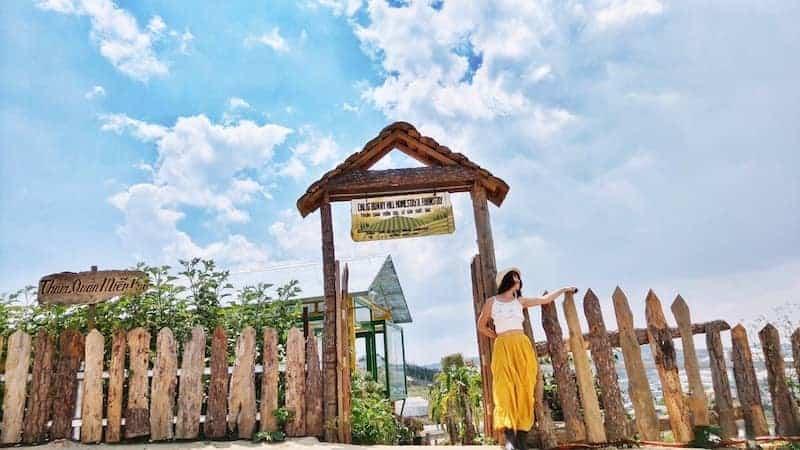 Vườn dâu Đà Lạt Bunny Hill