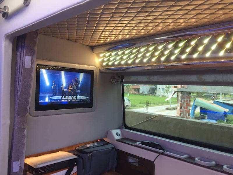 Rất nhiều người lựa chọn xe giường nằm làm phương tiện đi Đà Lạt